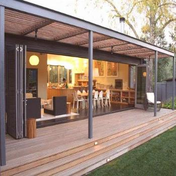 a remodel to connect to the outdoors