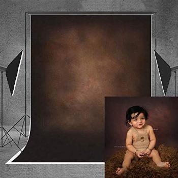 Allenjoy 5x7ft Abstract Brown Photography Backdrops Indoor