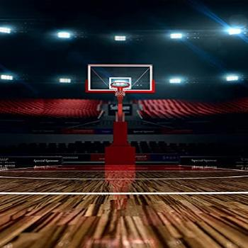 Basketball Court Background Indoor Photography Backdrop