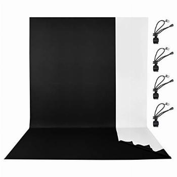 EMART Photo Backdrop for Photography, 6 x 9 FT 2-in-1