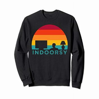 Funny Indoorsy Rather Be Inside Indoors Streaming Meme Gift