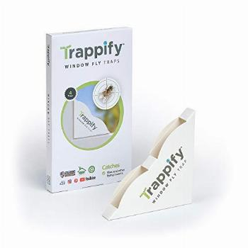 Trappify Indoor Window Fly Traps: Window Fly Trap for Indoor