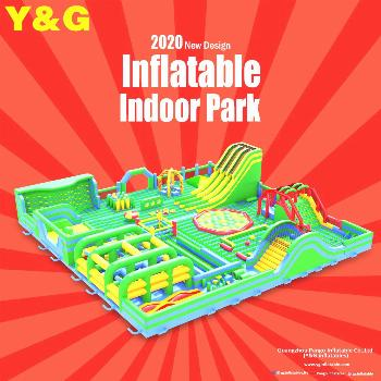 Y&G has unveiled an inflatable indoor park designed for 2020 With the New Year just around the corn