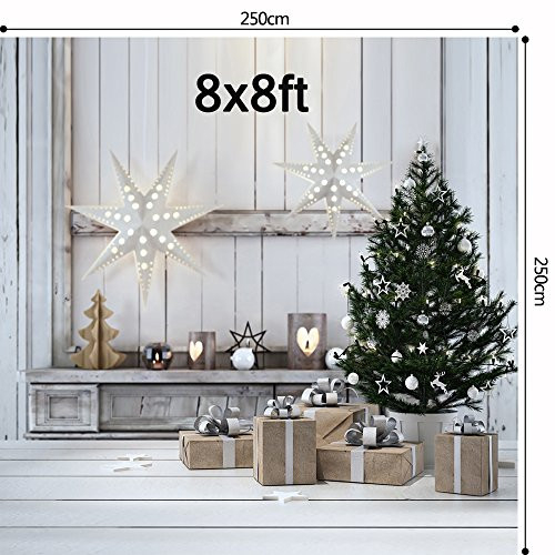 8x8ft Christmas Backdrop indoor Photography Backdrops
