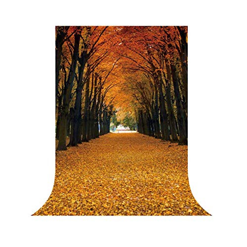 Funnytree 6x8ft Durable Fabric Maple Leaves Photography