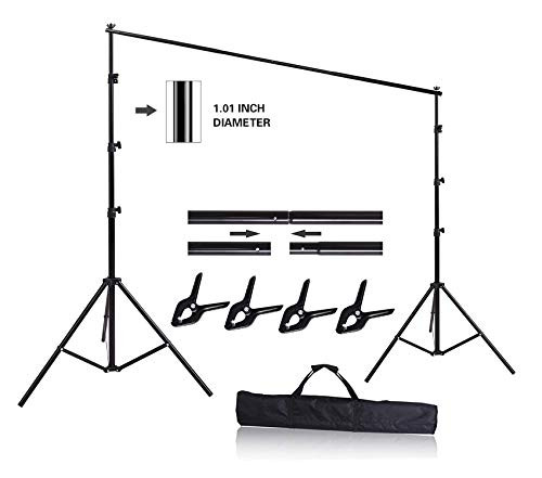 HYJ-INC 10ft x 8.5ft Adjustable Photography Backdrop Support
