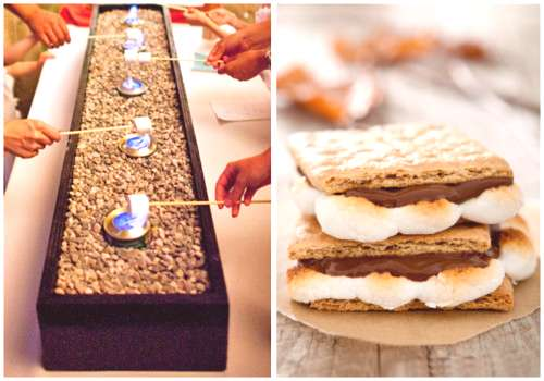 I think I can I think I can ~ Indoor Smores Bar ~ a company has requested this treat for their comp
