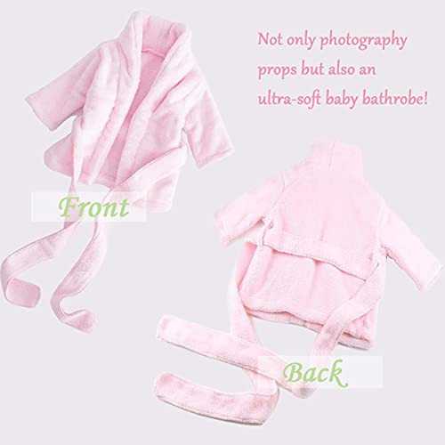 Newborn Baby Photography Props Cute Bathrobes Outfits Photo