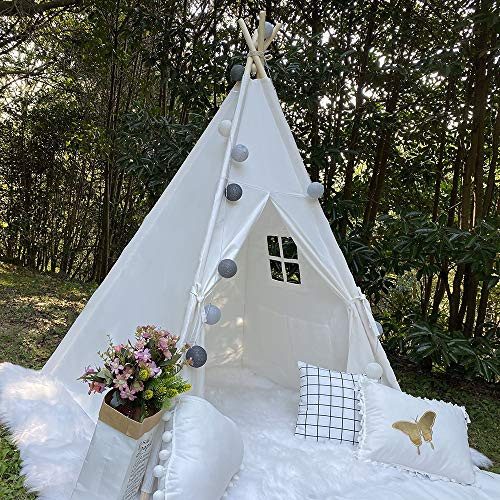 RongFa Portable Teepee Tent for Kids Indoor Playtent Gifts