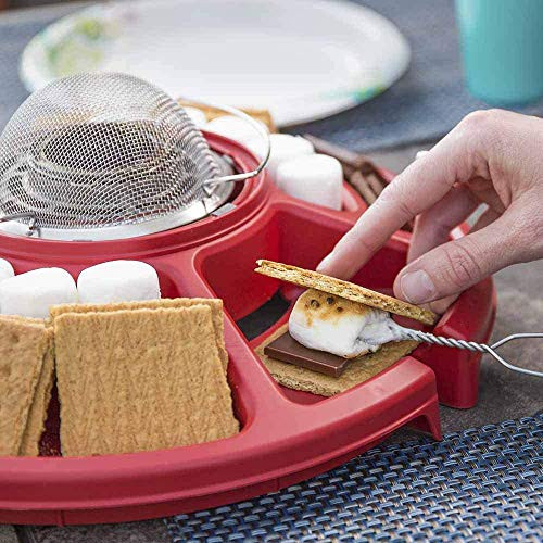 Sterno Family Fun Smores Maker, Red