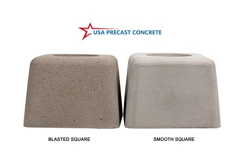 USA Precast Tabletop Fireplace Indoor Outdoor Fire Pit Clean
